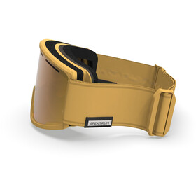 Spektrum Templet Essential Collection Goggles, honey gold/zeiss brown multi layer gold
